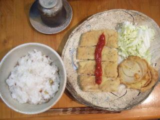 沖縄麩のカツ