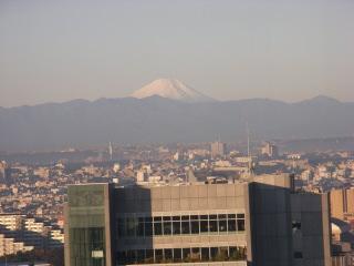 渋谷からの富士山