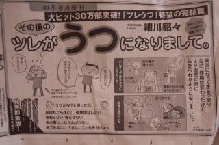 その後の新聞広告