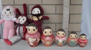 人形とマト