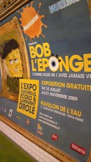 パリのスポンジボブ
